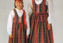 финский костюм