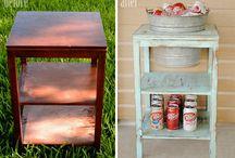 Repurposing (mostly) Furniture