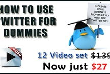Howtousetwitterfordummies / Marketing experts reveal everything
