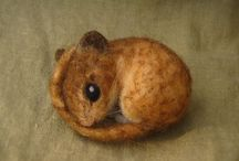 animals felted