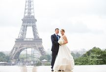 Real Wedding Story - Wedding in France / Celebrate your wedding in the legendary City of Light with style, elegance and romantic views of Paris