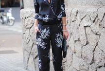 kimono inspired pyjama suit