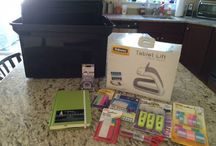 Organizing Your Home Office / Paper, plastic, writing tools, journaling, and of course electronics
