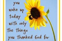 grateful / by Amanda Andrews