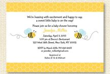 Bumble Bee Baby Shower/Birthday Party / Bumble bee party theme for boys or girls.
