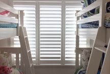 Specialty Shapes / Specialty-shaped custom window treatments! Here are unique and attractive solutions for French doors, sliding glass doors, bay windows, etc. From shades to shutters, we've got you (and your windows) covered!