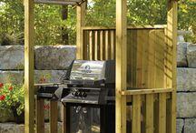 TEE ISE grillile katusealune {DIY BBQ shelter}