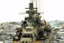 20th century Battleships
