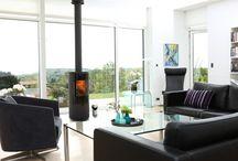RAIS Viva / The #Viva #stove from #RAIS has a beautiful circular shape and is #art to the livingroom.