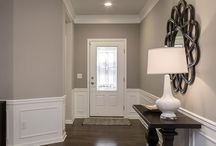 Interior Design - Grays and Whites