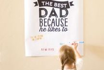 Father's Day / This board is for all things to celebrate dear ol' Dad! / by Made From Pinterest