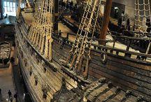 Ships Ahoy!!!!! / ''I have seen old ships sail like swans asleep.'' James Elroy Flecker