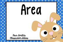 Area / Fern Smith's Classroom Ideas - Math - Area - Pinterest Board with tips, tricks, resources, crafts and freebies for families and elementary school teachers! / by Fern Smith