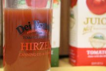 Dei Fratelli Drink Menu / Dei Fratelli Tomato and Vegetable Juices make some excellent drinks for kids and adults! Dei Fratelli Tasty Tom Spicy Tomato Juice is also an excellent way to had some spicy to your beverage.  / by Dei Fratelli