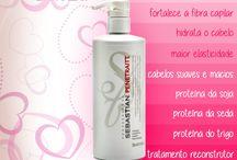 Cabelos Lindos / Produtos para cabelos - Shampoo, Condicionador, Máscara, Leave In, Finalizador
