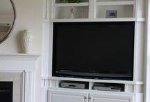 TV corner cabinets