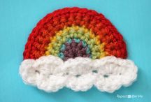 Crochet Applique / This board contains cute applique ideas to dress up your crochet projects.