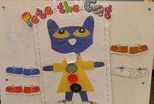 Preschool - Pete the Cat / by Jody Miller Matthews