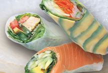 Spring Rolls / Sweet and savory