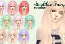 cheveux sims