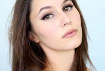 beleza: maquiagem e cabelo
