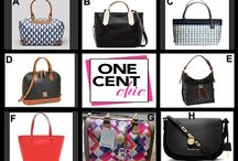 Win It Wednesday July 16 at 10 PM / Choose From 8 Fabulous Designer Handbags in Tonight's Auction at 10 PM et at OneCentChic