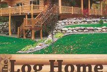 Casa troncos de madera