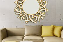 Bent Mirrors / Stare at your reflection a little longer. Bent Chair has a range of mirrors that you will fall in love with. These mirrors can be used as a show or looking mirror.