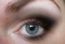 yakın gözlerin  gölgeledi makyaji