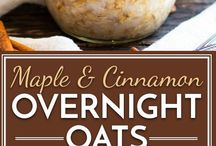 Overnite oats, chia puds