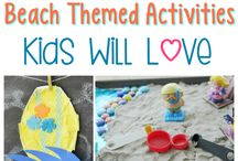 Beach theme activities