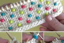 вязание с бусинами