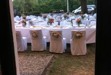 Wedding receptions / Flowers for wedding venues