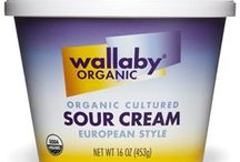 Sour Cream / We craft our organic sour cream using only two ingredients: cultures and fresh organic cream. This simple recipe yields an ultra-rich sour cream, with luxurious taste and creamy texture. It's sour cream without the sour, refreshingly redefined.