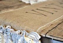 Burlap, Linen, Muslin, Fabric