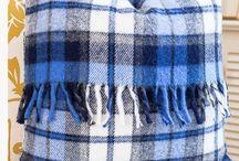 Vintage wool blanket ideas