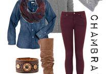 Olive/maroon pants