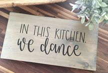 What Inspires Us / For us, the kitchen is the heart of the house. Nothing makes us happier than surrounding ourselves with people using, loving and – of course – dancing in the kitchen.