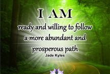 I am ★ Jade Kyles Psychic / I AM manifesting quotes to share. Blessings, inspiration, positivity and greetings are being sent your way with my Affirmations ♡ Many blessings Jade Kyles Psychic ♡ Thanks for connecting. I would love you to visit me at www.jadekyles.com or on fb at www.facebook.com/jadekylespsychic . You can also subscribe to my channel at www.youtube.com/jadekylespsychic