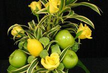Floral Designs: Incorporating Fruit/Vegetables