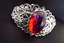 Dragon's Breath / I adore the Dragon's Breath opal!