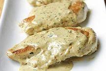 Recette  cuisse et escalope de poulet