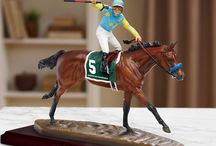 Race Horses In Art- American Pharoah