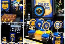 policejní oslava