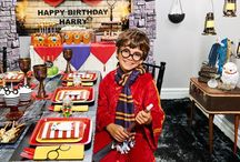 Harry Potter Party Ideas / Hogwarts School of Witchcraft and Wizardry cordially invites you to a spellbinding soiree. Join Harry, Ron and Hermione at Platform 9 3/4 and travel to the wizarding world with this Harry Potter birthday party theme. Birthday Express has all the Harry Potter party supplies, decor tips, party utensils and game ideas you'll need to host a magical celebration.