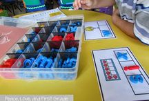 Daily 5 Ideas / Education Activities for teaching with the Daily 5 model for kindergarten, first grade, and second grade.