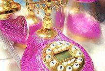 glittery  phone
