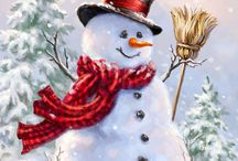 Snowman of my dream
