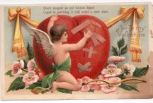 Vintage Valentine Time / Valentine's Day is especially special when you remember Valentine memories of the past.