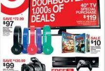 Black Friday Ads 2014 / Black Friday Ads 2014 ~ Find the best deals, and win cash! / by Wendy | GimmieFreebies